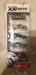 NEW Hot Wheels Test Facility Target 5 Pack Exclusive Bone Shaker Tires HWTF $74.99