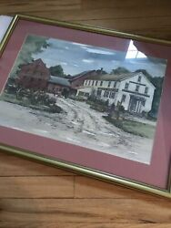 Comstock Ferre And Company Connecticut Framed Wall Art $50.00