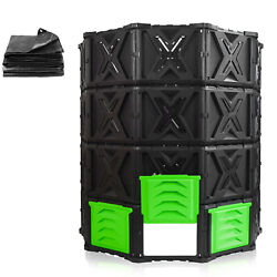 SQUEEZE master XXL Large Compost Bin Outdoor 720L 190 Gallon Easy Assembly $92.99