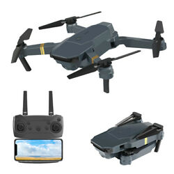 New Foldable Camera Drone 0.2MP 720P Wifi FPV HD APP 2.4G 6 Axis RC Quadcopter $39.99
