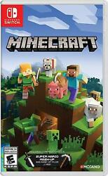 Minecraft Nintendo Switch and Switch Lite Includes Super Mario Mash Up New $32.00