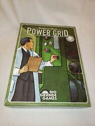 Power Grid Board Game Rio Grande Games All Pieces Included COMPLETE $24.00