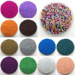 2mm4mm 1000pcs Seed Beads Spacer Glass Charm Czech Round Jewelry Making Diy $1.29