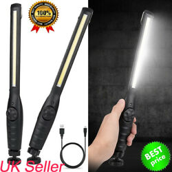 COB LED Magnetic Work Light Car Garage Flashlight Home Rechargeable Torch Lamp $11.89