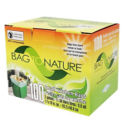 Bag To Nature Compostable Bag And Liner 3 gallon 100 Count $23.67