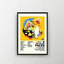 Mac Miller Faces Poster Home Art Decor No Frame Poster Gift For Friend $19.80