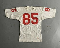 VINTAGE 70s 80s CHAMPION FOOTBALL JERSEY MADE IN USA $30.00