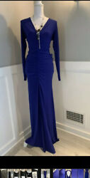 Woman Long Party Dress WINDSOR Size L Color Blue Elegant and You'll Look 👍🏼 $14.50