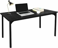 Simplux Modern Design Simple Style Table Home Office Computer Desk Black Marble $56.99