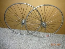 VINTAGE CAMPAGNOLO RECORD WHEELSET SUPER CHAMPION FOR COLNAGO CINELLI GIOS MASI $299.00