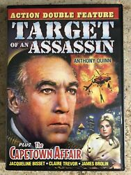 Target Of An Assassin Plus The Capetown Affair DVD Pre owned Like New $2.95
