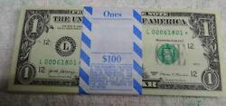 ** 2017 $1 STAR PACK SAN FRANCISCO quot;Lquot; VERY LOW NUMBERS w BEP label * $288.88
