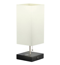 USB Table Lamp with 2 Charging Ports for Recharge Devices Albrillo MT18285 $19.99