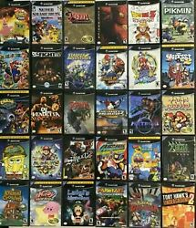 GAMECUBE Authentic Games I P Nintendo Gamecube CLEANED AND TESTED