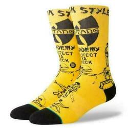 STANCE Wu Tang Clan Men#x27;s Socks Protect Ya Neck Size Large 9 12 NEW $17.99