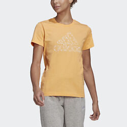 adidas Outlined Floral Graphic Tee Women#x27;s $12.99