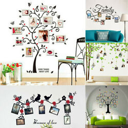 Photo Frame Tree Wall Stickers Muslim Vinyl Home Stickers Bedroom Wall Decals $8.19
