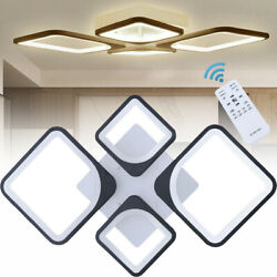 Dimmable Diamond Acrylic Modern LED Ceiling Light Lamp Pendant Dining Room $91.00