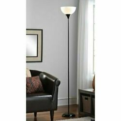 71 Inch Metal Floor Lamp Living Room Light Stand Scoop Shade Read Torchiere 150W $13.29