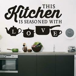 Kitchen Home Wall Sticker PVC Art Wall Decal Bedroom Room Decoration Removable $8.99