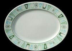 Taylor Smith Taylor Cathay Oval Platter 13 1 2quot; $19.99