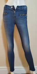 Express Jeans Women Junior Size 00 R Exp Supersoft Mid Rise Ankle Legging Jeans $27.99