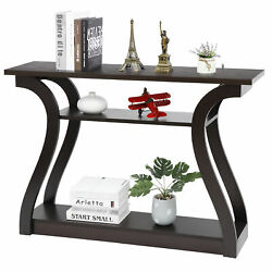 Pro 3 Tire Accent Table Console Table Porch Side Table for Hallway Living Room $74.99