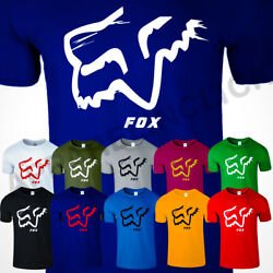 FOX RACING MENS T Shirt Legacy Moth Logo Track Motocross Mx Camo Off Road Tee $19.99