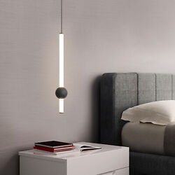 Modern Dining Room Bar Bedroom Bedside Decorative Lighting LED Hanging Pendant