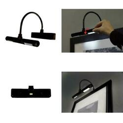 Adjustable Led Picture Art Lamp Wireless Light Battery Wall Lighting Gallery $22.97