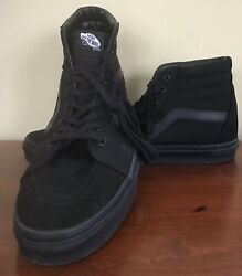 VANS Black Size 12 Mens Hightops $50.00