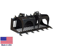 GRAPPLE ROD BUCKET Commercial for all Skid Steers Digging Rooting 6.3 Ft