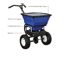 SPREADER Commercial for Salt amp; Sand 100 Lb Capacity Push Type Walk Behind