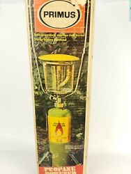 Vintage 1970s PRIMUS LANTERN amp; STAND 2157 Never Used Open Box $300.00