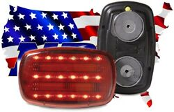 18 Led Magnetic Battery Operated Led Safety Light Red HF18RPHD HF18RHD $22.98