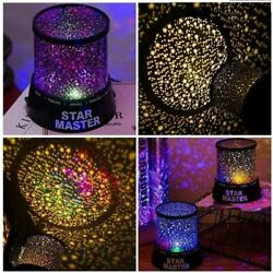 LED Starry Night Sky Projector Lamp Star Light Master Party Decor Gifts USA $6.99