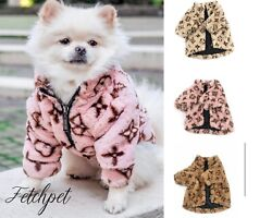 fashion coat designer clothing for dogs puppy xs xl