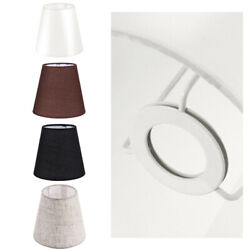 Linen PVC Light Shade Tapered Pendant Lampshades Table Floor Modern Shades $9.58