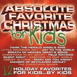Absolute Favorite Christmas for Kids Music CD Various Artists 2005 09 27 $4.18