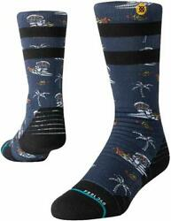 ​STANCE KIDS UNISEX SOCKS SPACE MONKEY Y NAVY MEDIUM $13.95