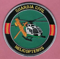 SPAIN GUARDIA CIVIL HELICOPTEROS POLICE HELICOPTER UNIT PATCH $9.00