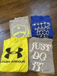 Four Nike and Under Armour Graphic Tshirts Excellent Condition Size Mens M