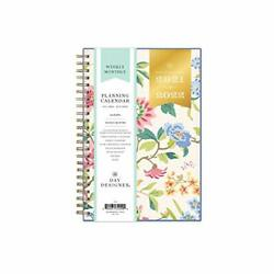 Day Designer for Blue Sky 2021 2022 Academic Year Weekly Monthly Planner 5quot; x 8quot;