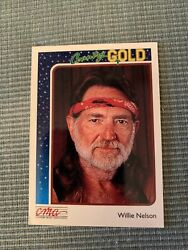1992 Sterling Cards CMA Country Gold Willie Nelson #34
