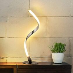 Albrillo Spiral Design LED Table Lamp TD6 $25.99