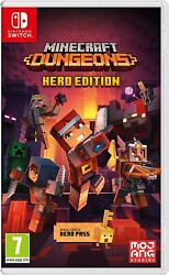 Minecraft Dungeons Hero Edition Nintendo Switch and Switch Lite Mojang New $25.50