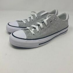 Converse ​Chuck Taylor All Star Womens Madison Sneakers Gray 549700F 8 M New $45.99