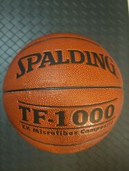 NEW OLD STOCK Original Spalding TF 1000 ZK Basketball Men#x27;s 29.5 Never Played $229.00
