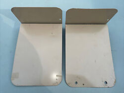 VTG Buddy Products Beige Metal Wall Office Paper Organizer Vertical Bookends $12.50