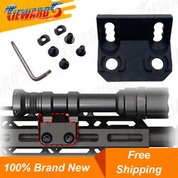 Low Profile Offset Scout Light Mount Tactical Flashlight Mount Fit for M Lok NEW $23.99